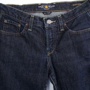 Lucky Brand Jeans - Lucky Brand Easy Rider Straight Leg Denim Jeans